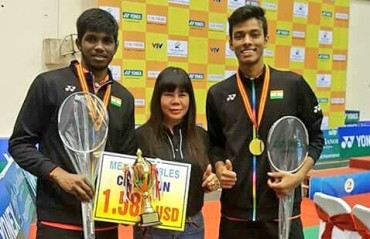 Satwik/Chirag clinch the Vietnam IC men's doubles title