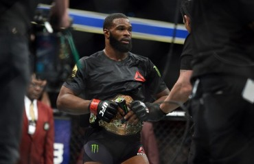 Tyron Woodley challenges Michael Bisping for a fight in July