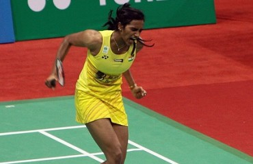 Sindhu crushes Marin in straight games to lift her first India SS title
