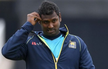 Hamstring injury likely to keep Angelo Mathews out of IPL