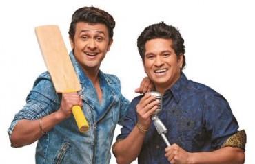JUGALBANDI: Watch Tendulkar sing 'Cricket Wali Beat' with Sonu Nigam