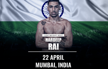 Indian MMA news: Hardeep Rai signs With Brave Combat Federation
