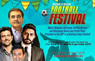 Football Festival organised in Ahmedabad to promote FIFA U 17 World Cup