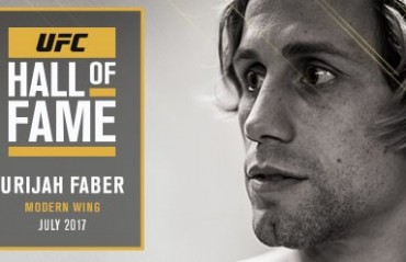 Urijah Faber to headline UFC Hall of Fame Class of 2017