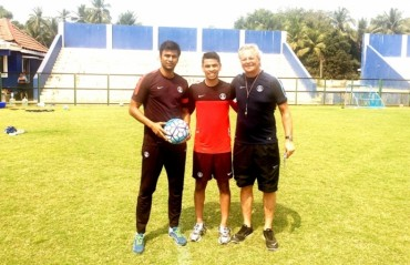 NRI Namit Deshpande is the first player that has been selected via online scouting portal for U17 WC