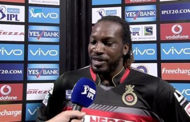 The Universe Boss is here and still alive, says Chris Gayle on completing 10,000 T20 runs