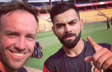 WATCH: Kohli, Watson and ABD take some time out to visit specially-abled children