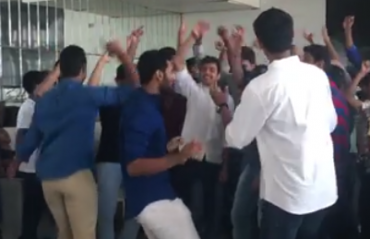 WATCH: Shuttlers showing off their dancing skills at a success party