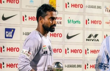 First choice Minerva Punjab keeper Arnab Das walks out of the team