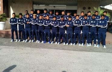 India Under 17 team loses second game in exposure trip