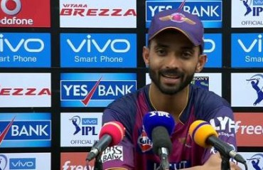 Happy with the way I'm batting at the moment, says Rahane