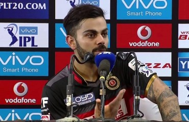 We haven't shown the right intent in this IPL: Kohli