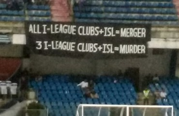 Harsh facts too much for AIFF: protest banner taken down at Kanteerava