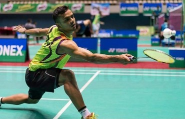 Indian shuttlers end their campaign in the QF of Thailand IC