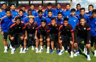 India World Cup U17 team lose their practice match against SL Benfica