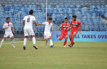 Shillong Lajong overcome number and goal deficit to register thrilling 3-2 win over DSK