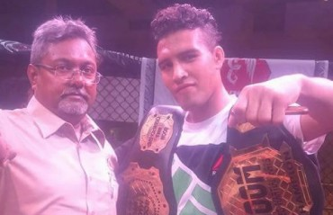 BOOM IPFL: Omar crowned Featherweight champion