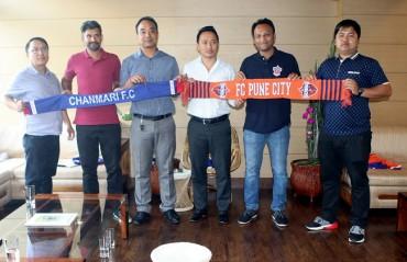 FC Pune City partner Mizoram's Chanmari FC in a strategic alliance