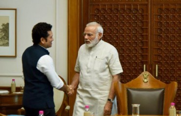 Tendulkar meets PM Modi for film briefing and thanks him for positive response