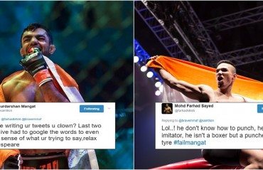 #FailMangat – The war of words between Mangat and Farhad resumes with a new hashtag