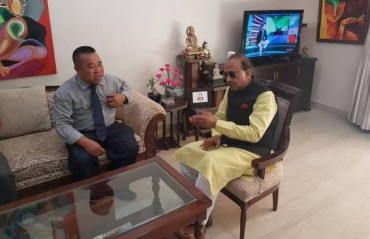 Union Sports Minister assures support and funds for Aizawl FC to host AFC matches