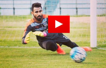 WATCH: Goalkeeper Amrinder Singh breaks into a champion dance