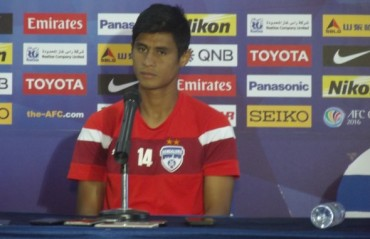 Eugeneson Lyngdoh says the Indian national team has the potential to be among the elites