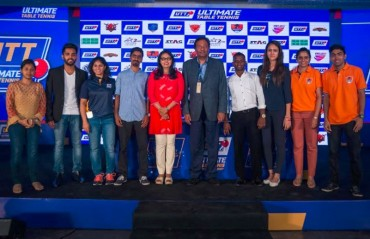 Ultimate Table Tennis Inaugural edition: 48 players drafted into six franchises