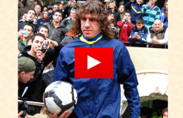 WATCH: Carles Puyol playing the master of disguise in Mumbai