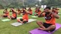 WATCH: U Mumba stretch and twist to celebrate International Yoga Day