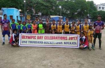 Hockey India unites regions to celebrate Olympic Day 2017