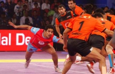 U Mumba edge Jaipur Pink Panthers by a solitary point
