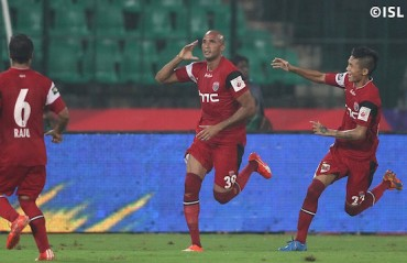 NorthEast United beat Chennaiyin 2-1, jump to fifth spot