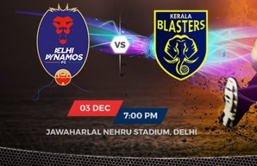 PREVIEW: Delhi Dynamos will aim for a win against Blasters in bid to top table