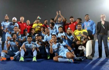 HWL FINAL: India pip Netherlands in thriller to end medal drought after a tense shoot-out