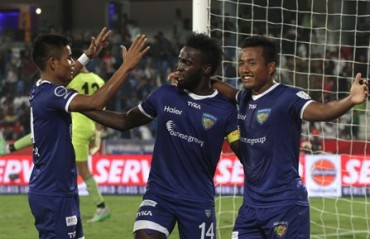 Chennai play with graceful dominance, overcome ATK 3-0 in ISL semi-final first leg