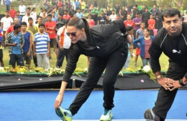 Neha Dhupia's health tips to be Race Fit...Race Ready!