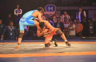Haryana Hammers out-muscled Bengaluru Yodhas  4-3 in PWL contest