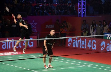 Saina and the doubles contest was the highlight of a three day outing at Lucknow