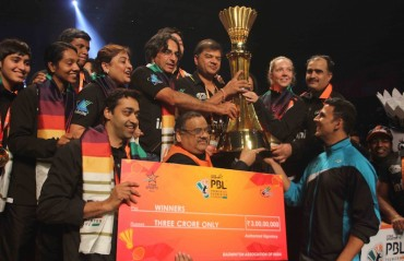 FINALS REPORT: Rajiv Ouseph trumps Gurusai to help Delhi Acers clinch the PBL 2016 title