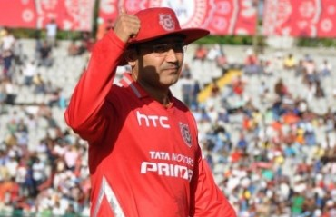 Sehwag joins Kings XI Punjab as mentor