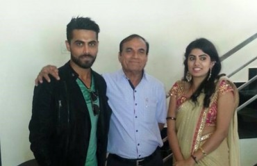 Indian cricketer Jadeja all set to exchange his engagement ring tomorrow