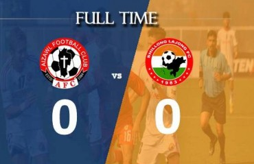 Disappointing draw between Aizawl FC and Shillong Lajong as home team rues denied penalty