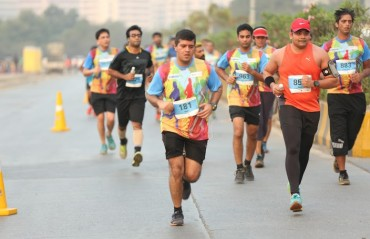 Over 5,000 runners took part in the fourth edition of IL&FS 'I Run for Fun 2016'