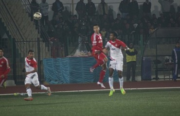 DSK Shivajian and Shillong Lajong plays out 1-1 stalemate