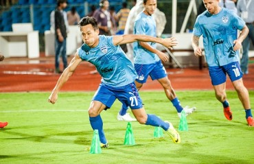 Undaunted Udanta scores and assists as BFC close the gap on Bagan by slaying Lajong 0-2