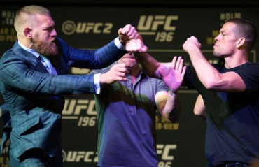 Nate Diaz thinks that a rematch with Conor McGregor would be funny
