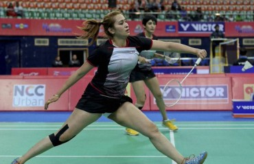 Indian shuttlers bow out of the New Zealand GPG after losing in quarters