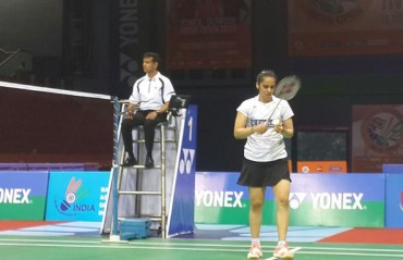 Defending champion Saina goes down fighting in the SF of India SS