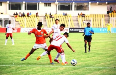 Aizawl hold Sporting Clube de Goa to a draw to make marginal progress in relegation battle